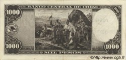 1000 Pesos - 100 Condores CHILI  1947 P.116 TTB+