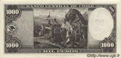 1000 Pesos - 100 Condores CHILI  1947 P.116 SPL