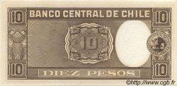 10 Pesos - 1 Condor CHILI  1958 P.120 pr.NEUF