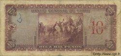 10 Escudos sur 10000 Pesos CHILI  1960 P.132 B