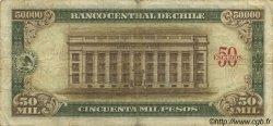 50 Escudos sur 50000 Pesos CHILI  1960 P.133 pr.TB