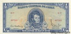 1/2 Escudo CHILI  1962 P.134a pr.NEUF