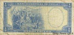 1/2 Escudo CHILI  1962 P.134A B+
