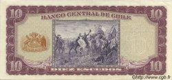 10 Escudos CHILI  1964 P.139a SUP+
