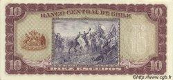 10 Escudos CHILI  1964 P.139a pr.NEUF