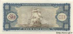 100 Escudos CHILI  1964 P.141a pr.NEUF