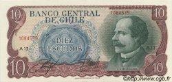10 Escudos CHILI  1970 P.142 SPL