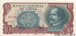 10 Escudos CHILI  1970 P.142Aa SPL