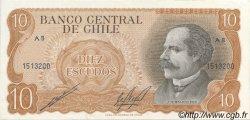 10 Escudos CHILI  1970 P.143 SPL