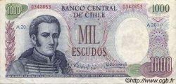 1000 Escudos CHILI  1971 P.146 TTB