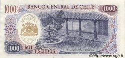 1000 Escudos CHILI  1971 P.146 SUP