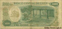 5000 Escudos CHILI  1974 P.147a TB