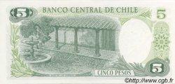 5 Pesos CHILI  1975 P.149a NEUF