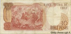 10 Pesos CHILI  1975 P.150a pr.TTB