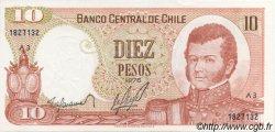 10 Pesos CHILI  1976 P.150b NEUF