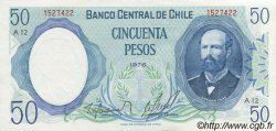 50 Pesos CHILI  1978 P.151a pr.NEUF