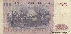 100 Pesos CHILI  1976 P.152a TTB