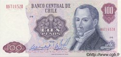 100 Pesos CHILI  1981 P.152b pr.NEUF