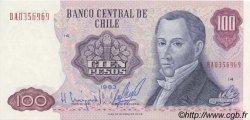 100 Pesos CHILI  1983 P.152b NEUF