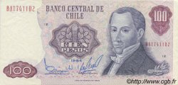 100 Pesos CHILI  1984 P.152b SUP