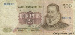 500 Pesos CHILI  1980 P.153b TB+