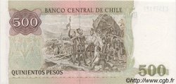 500 Pesos CHILI  1987 P.153b NEUF