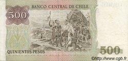 500 Pesos CHILI  1990 P.153b SUP
