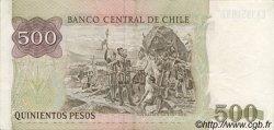 500 Pesos CHILI  1991 P.153c SUP