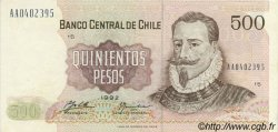 500 Pesos CHILI  1992 P.153d SUP