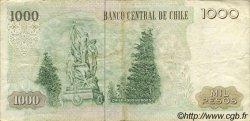 1000 Pesos CHILI  1984 P.154b TTB