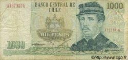 1000 Pesos CHILI  1986 P.154b TB