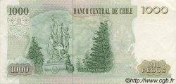 1000 Pesos CHILI  1986 P.154b SUP