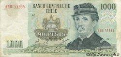 1000 Pesos CHILI  1989 P.154c pr.TTB