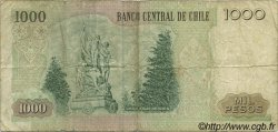 1000 Pesos CHILI  1994 P.154e TB
