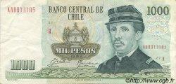 1000 Pesos CHILI  1993 P.154e SUP