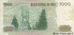 1000 Pesos CHILI  1995 P.154f TTB+