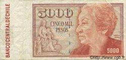 5000 Pesos CHILI  1995 P.155e TB à TTB