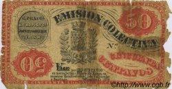 50 Centavos CHILI  1879 PS.-- AB