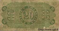20 Centavos CHILI  1879 PS.-- B+