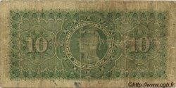 10 Pesos CHILI  1893 PS.112 B+