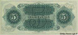 5 Pesos CHILI  1876 PS.362r pr.NEUF