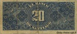 20 Pesos CHILI  1886 PS.415a B à TB
