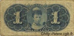 1 Peso CUBA  1896 P.047a TB+