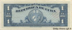 1 Peso CUBA  1960 P.077b SUP+