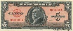5 Pesos CUBA  1950 P.078b NEUF