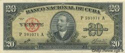 20 Pesos CUBA  1960 P.080c SUP