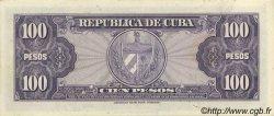 100 Pesos CUBA  1950 P.082a SPL