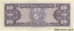 100 Pesos CUBA  1954 P.082b pr.NEUF