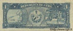 1 Peso CUBA  1956 P.087a TTB