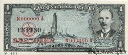 1 Peso CUBA  1957 P.087s2 NEUF